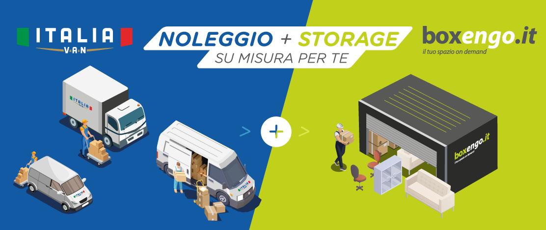 self storage noleggio van